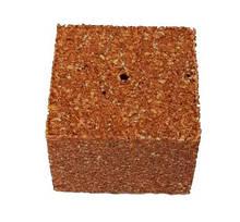 Кубик макушатника з отвором 45х45х20 мм, Мідія
