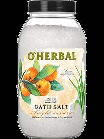 Сіль для ванн O Herbal квітково-цитрусовий Aroma Inspiration 1100 г