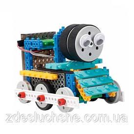 Конструктор LongYeah R722 4-в-1 паровозик, машинка, лыжник, робот SKL17-139964