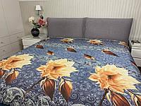 """""""цветочное"""" Летнее одеяло покрывало двуспальный размер 175/205"""
