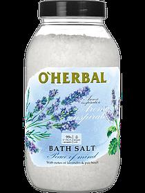 Сіль для ванн O Herbal лавандова 1100 г