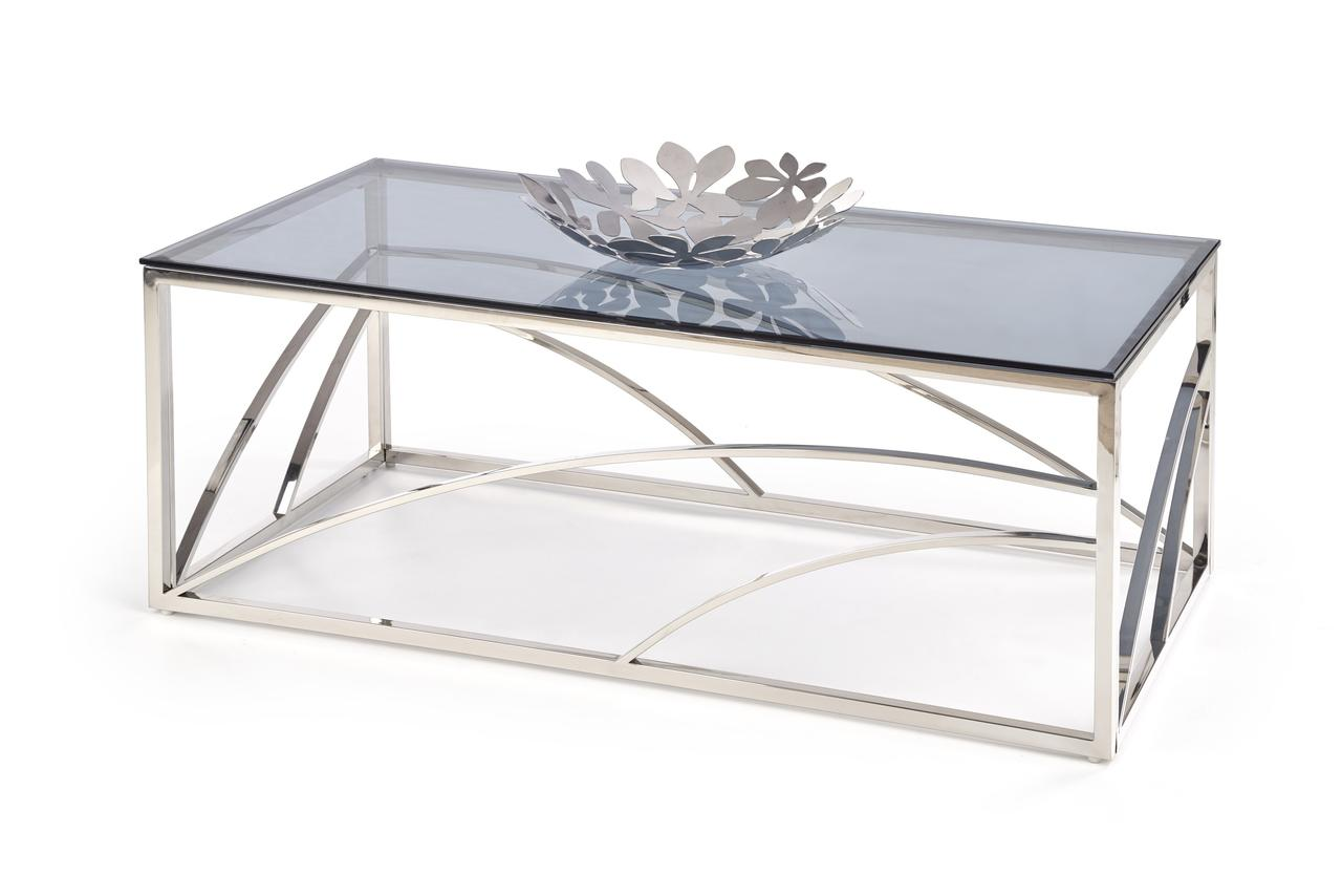Журнальный столик UNIVERSE Halmar 120x60 Серебро