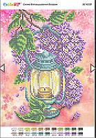 БС-4239 . Схема для вишивки бісером Ліхтар весна.