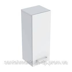 SELNOVA Square тумба 33*85*29,7см, с 1й дверью, белый глянец