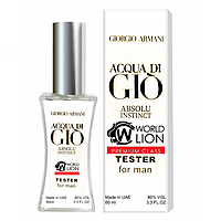 Тестер Premium Class Giorgio Armani Acqua Di Gio Absolu Instinct мужской, 60 мл