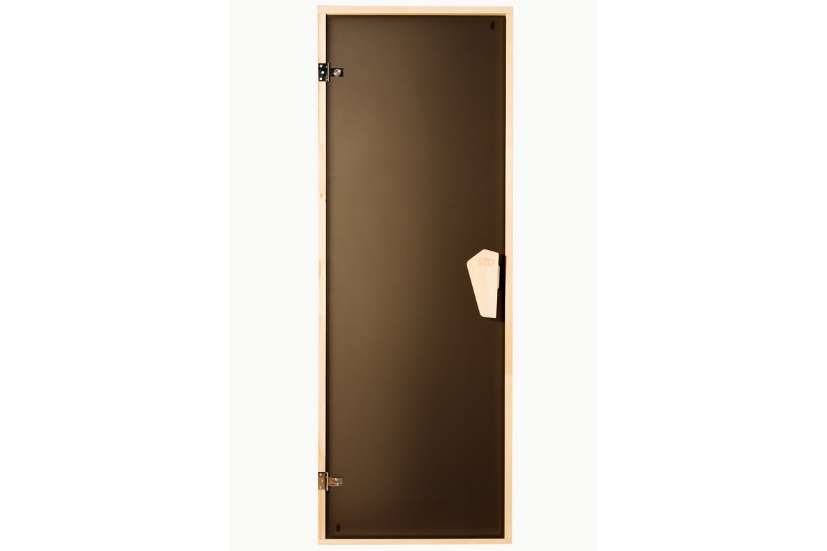 """Двері для лазні ТМ """"Tesli"""" 700х1900, бронза. """"Briz Sateen"""""""