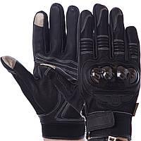 MADBIKE MAD-02 Gloves, Black, M, Мотоперчатки с защитой, фото 1