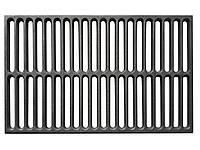 Чугунная решетка для гриля  250х410 мм