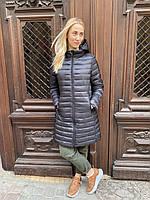 Куртка плащ пальто ветровка дождевик женская весенняя осенняя демисезонная длинная двухсторонняя батал большая