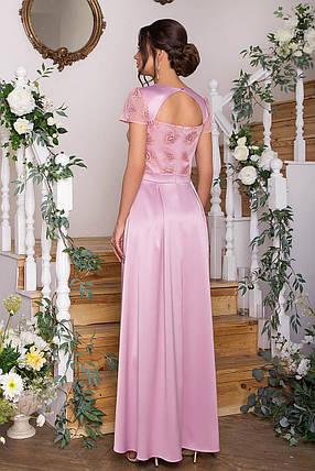 Красивое платье в пол для выпускного бала  Размеры S, M, L, XL, фото 2