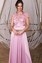 Красивое платье в пол для выпускного бала  Размеры S, M, L, XL, фото 3