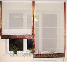 Римская штора Однотонная