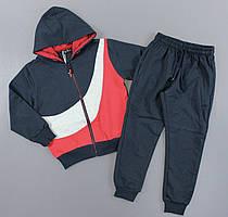 {есть:134 СМ,140 СМ,146 СМ,128 СМ,122 СМ,116 СМ} Трикотажный костюм - двойка для мальчиков S&D,  Артикул: