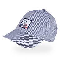 Бейсболка для мальчика TuTu арт. 3-005480 (48-52, 52-56) 52-56 см., Голубой