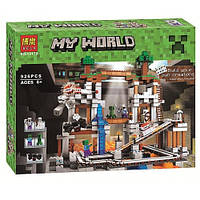 Конструктор My World Майнкрафт 10179 'Шахта' ( Майнкрафт 21118), 926 дет