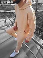 Мужской спортивный костюм Оверсайз бежевый (Oversize)