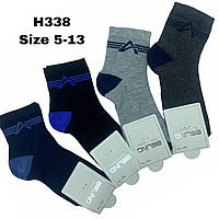 Детские демисезонные носочки для мальчиков ( мин. заказ 12 шт. в уп. ) 5-14 лет