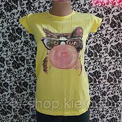 Жіноча футболка Котик