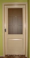 Белорусские двери Версаль ПГ ваниль патина в Киеве (Халес)