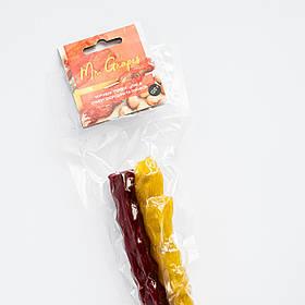 """Перекус """"Цілий"""" смородина та ананас в чюрчхелі без цукру Mr. Grapes, 120 г"""