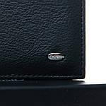 Кошелек портмоне  мужской кожаный на магните с зажимом DR. BOND черный (05-161), фото 4