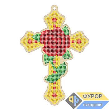 Крест вышивка по дереву (ХДВ1-001)