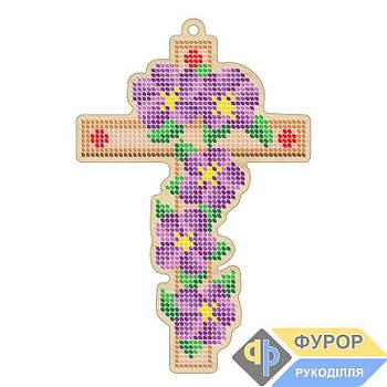 Крест вышивка по дереву (ХДВ1-006)