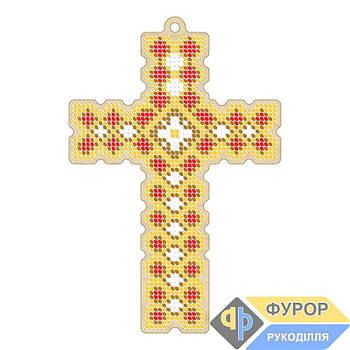 Крест вышивка по дереву (ХДВ1-008)
