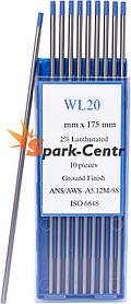 Вольфрамовый электрод WL-20 (бирюзовый) 4,0 мм