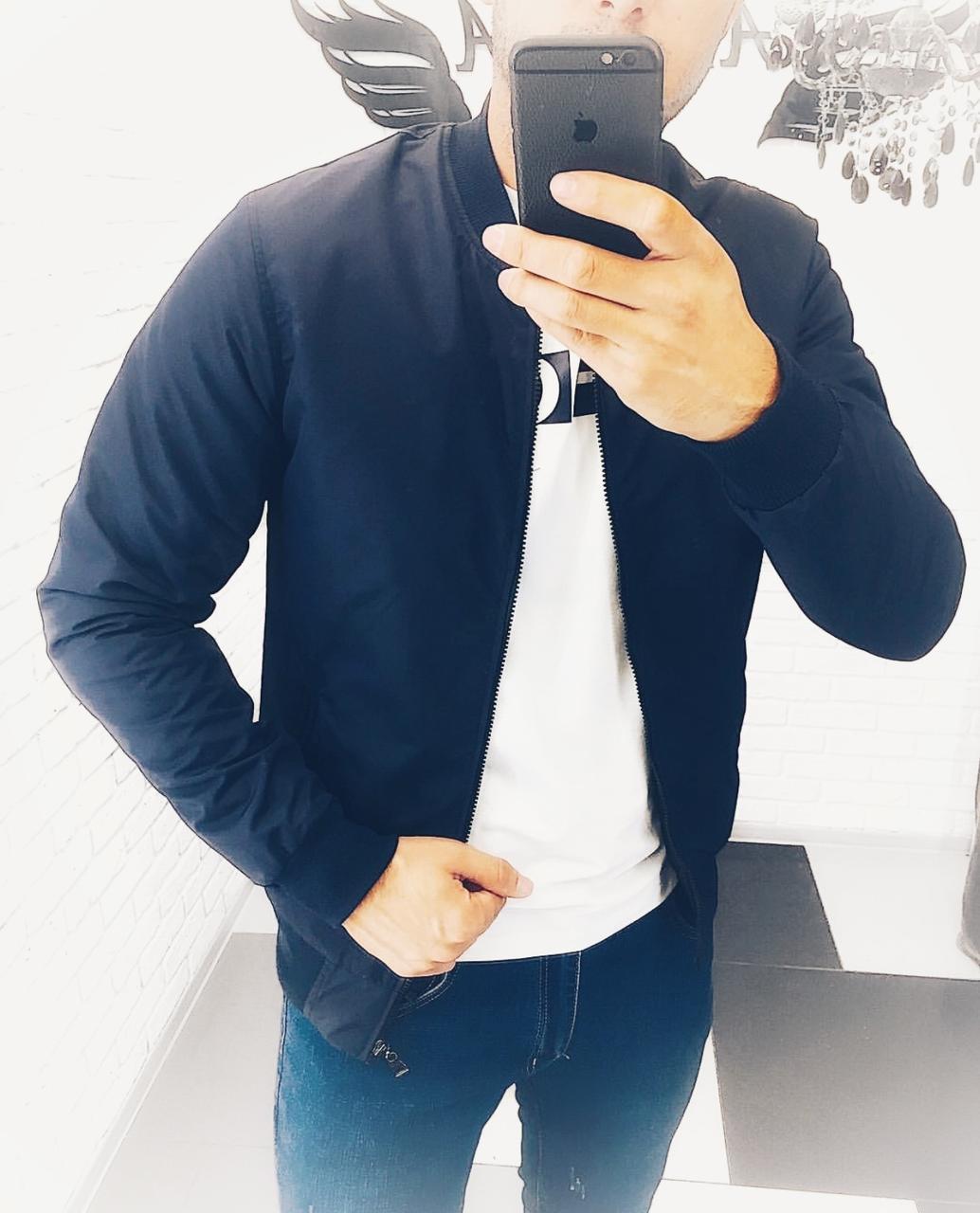 Чоловіча куртка демісезонна