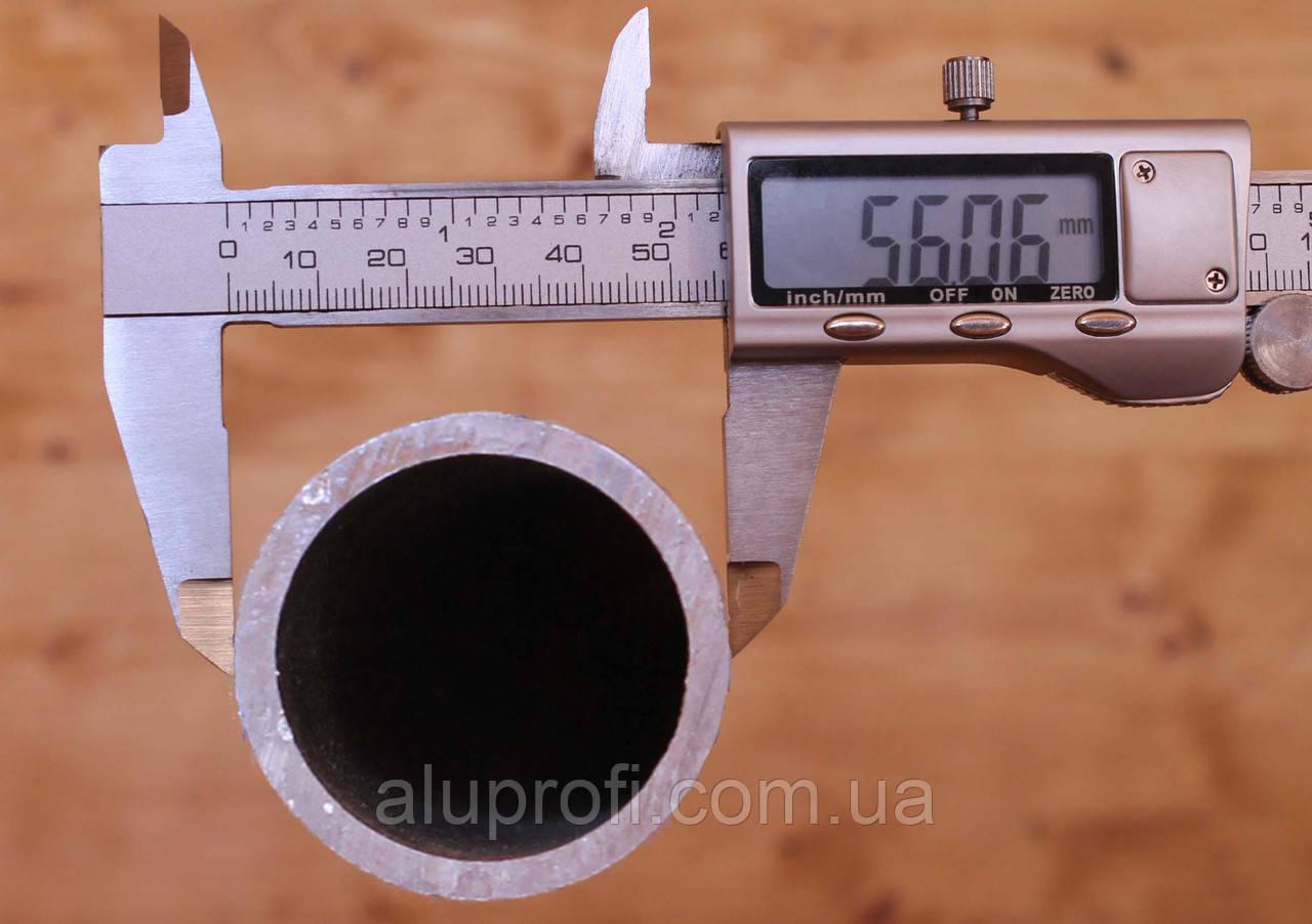Труба  алюминиевая ф56мм (56х2,5мм) АД31Т5, 6060