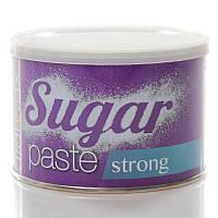 """Сахарная паста для депиляции """"Strong"""" в банке, 400 мл ItalWax"""