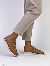 Коричневі жіночі туфлі, фото 3