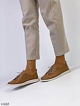Коричневі жіночі туфлі, фото 2
