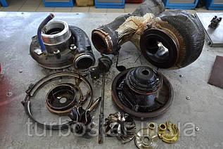 Ремонт турбокомпрессора с грузового автомобиля