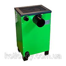 Твердопаливний котел з плитою Вогник КОТВ-10П, фото 3