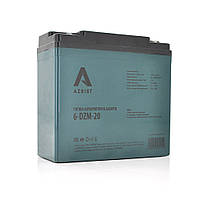 Тягова акумуляторна батарея AGM AZBIST 6-DZM-20, 12V 20Ah M4 (181х77х167 ) Q4