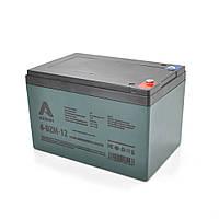 Тягова акумуляторна батарея AGM AZBIST 6-DZM-12, 12V 12Ah M5 (151х98х101 мм) Black Q4