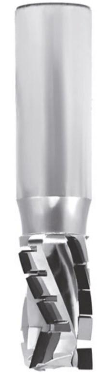 Фрези алмазні Turbo Z=3 DTE.16.035.16.0SR 16x35x16x45 до ЧПУ станків