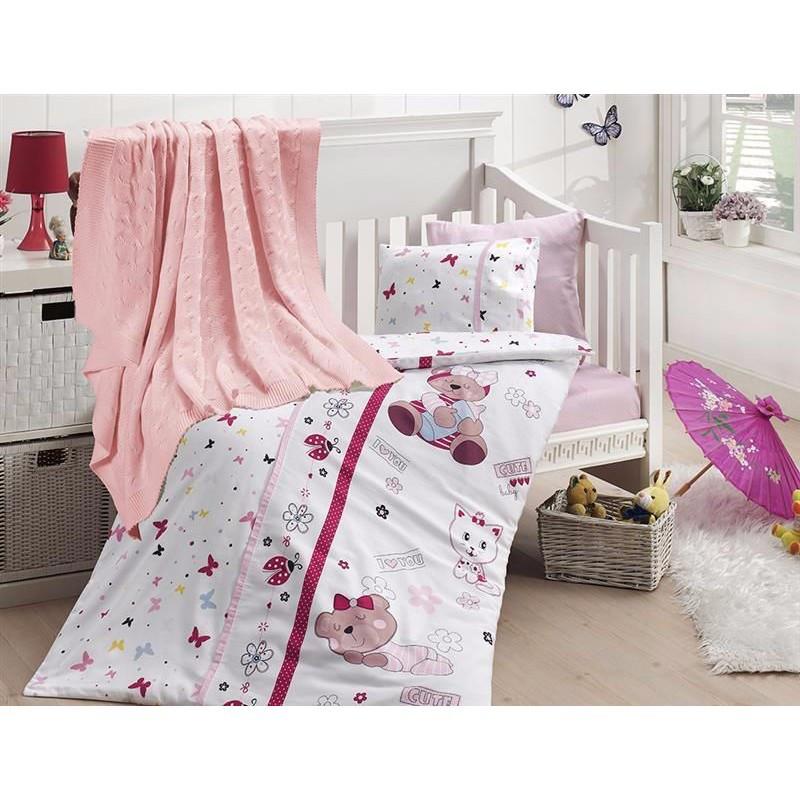 Детское постельное белье First Choice Nirvana Cute Baby N 407