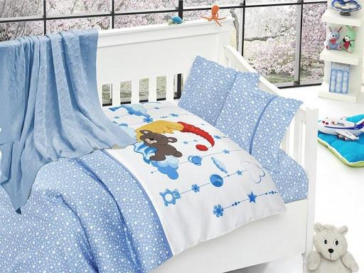 Детское постельное белье First Choice Nirvana Sleeper Mavi N 409