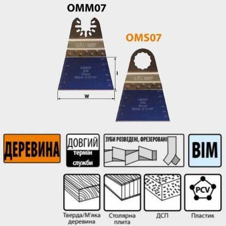 68x40 занурювальне пиляльне Полотно по дереву СМТ 5 шт., фото 2