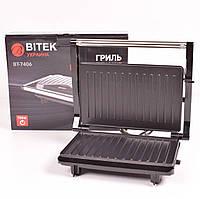 Гриль электрический контактный BITEK BT-7406 750Вт