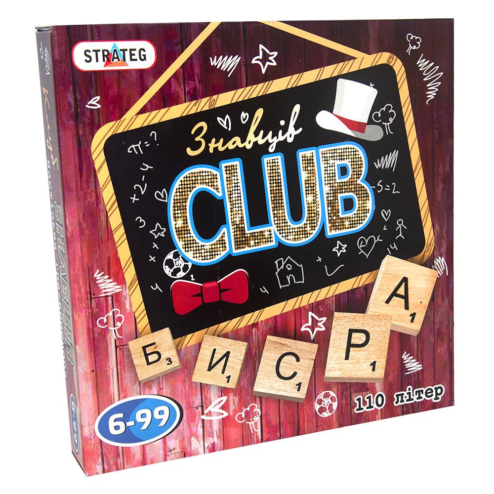 Настольная игра Знатоки CLUB