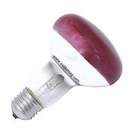 Лампа розжарювання інфрачервона дзеркальна ИКЗК 220-100 R80 Е27 Зоо