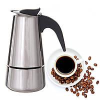 Гейзерная кофеварка A-PLUS на 6 чашек (2088)