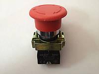 Кнопка гриб с блокировкой NP2-BS542
