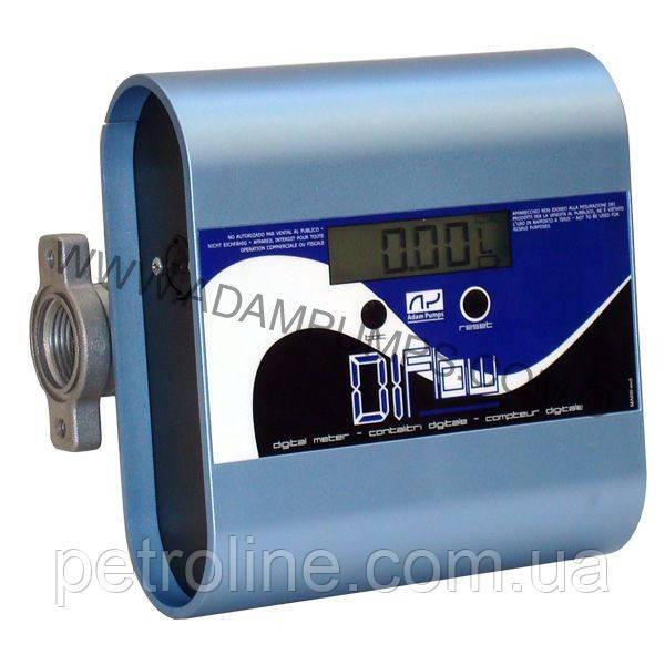 Электронный счетчик DI-FLOW для дизельного топлива, масла, 10—150 л/мин, +/-1%