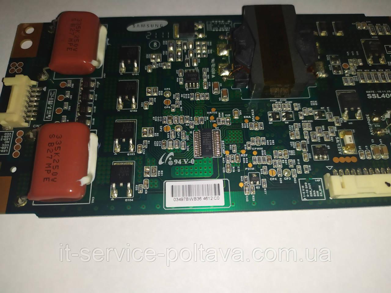 Плата LED драйвер SSL400_0E2B REV0.1 для телевізора Grundig