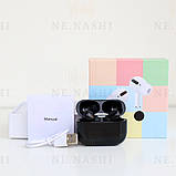 Навушники безпровідні в дизайні AirPods Pro, Macaron pro Air 3 Pro 1:1. Чорні., фото 2